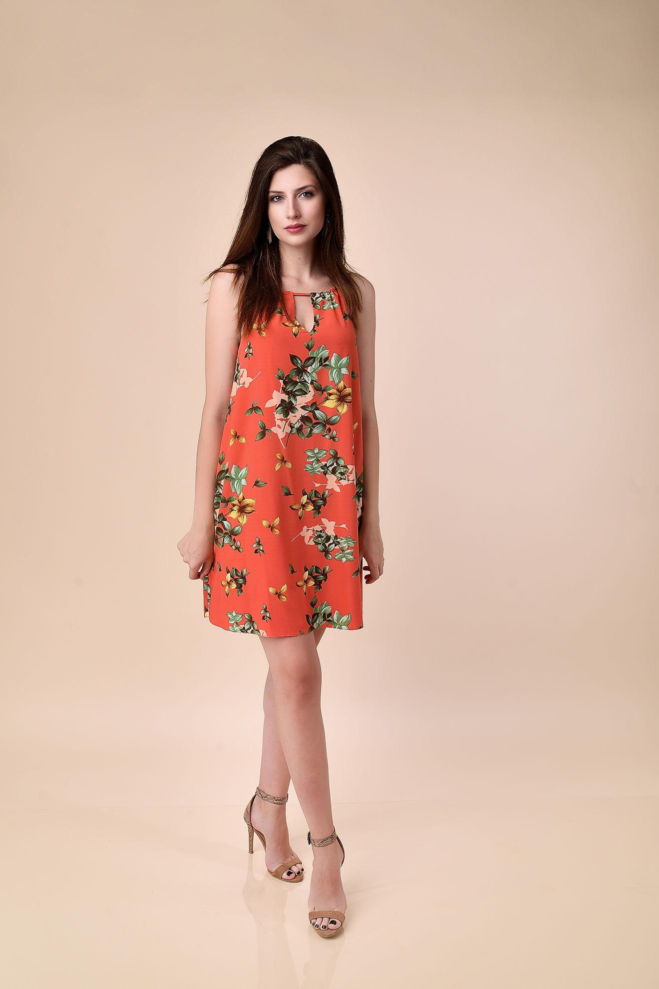Imagine Rochia Margo cu imprimeu floral