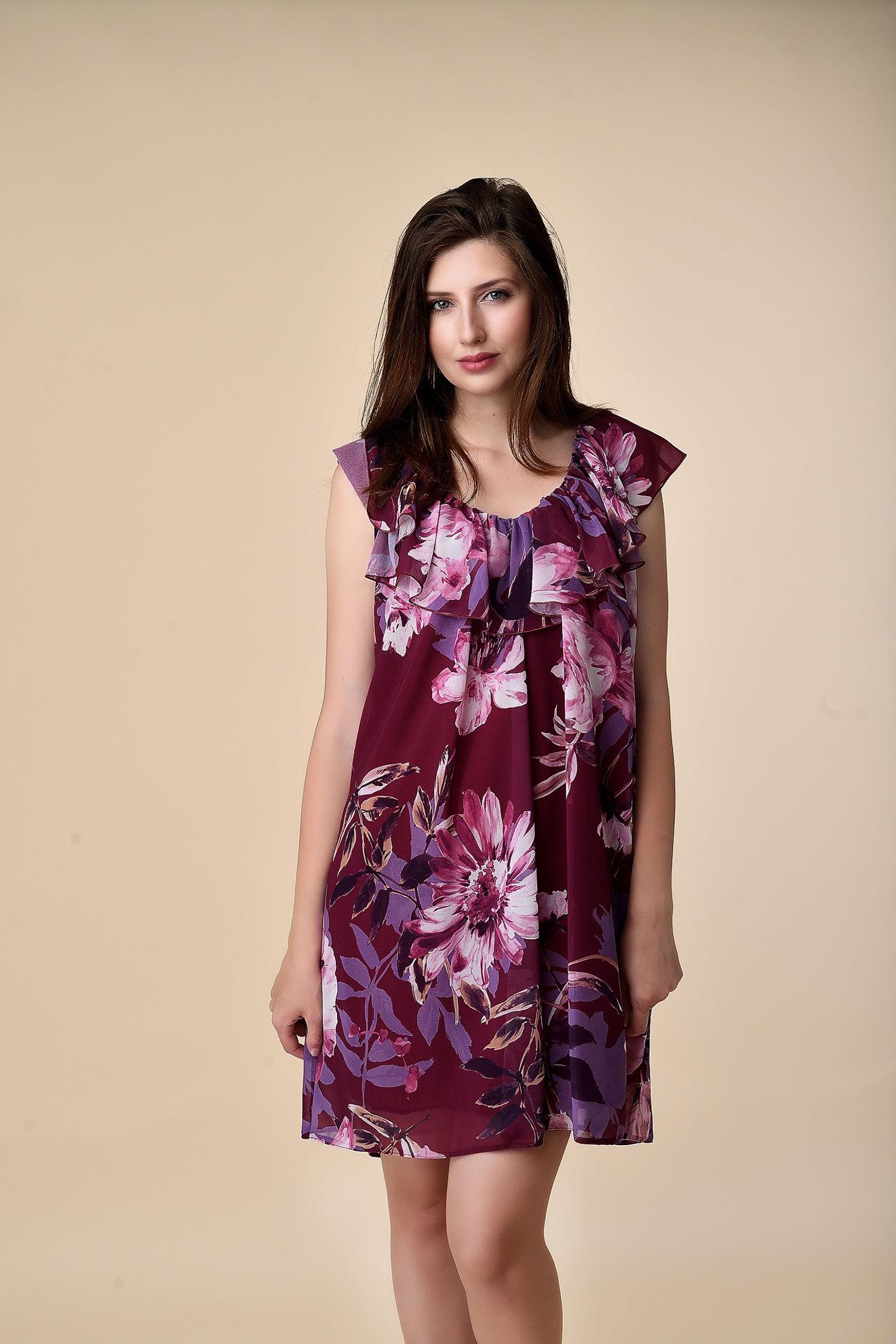 Imagine Rochia Judy cu imprimeu floral