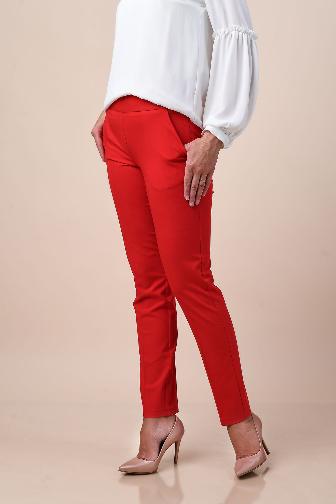 Imagine Pantalon Nancy rosu