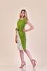 Imagine Rochia Dora verde fistic