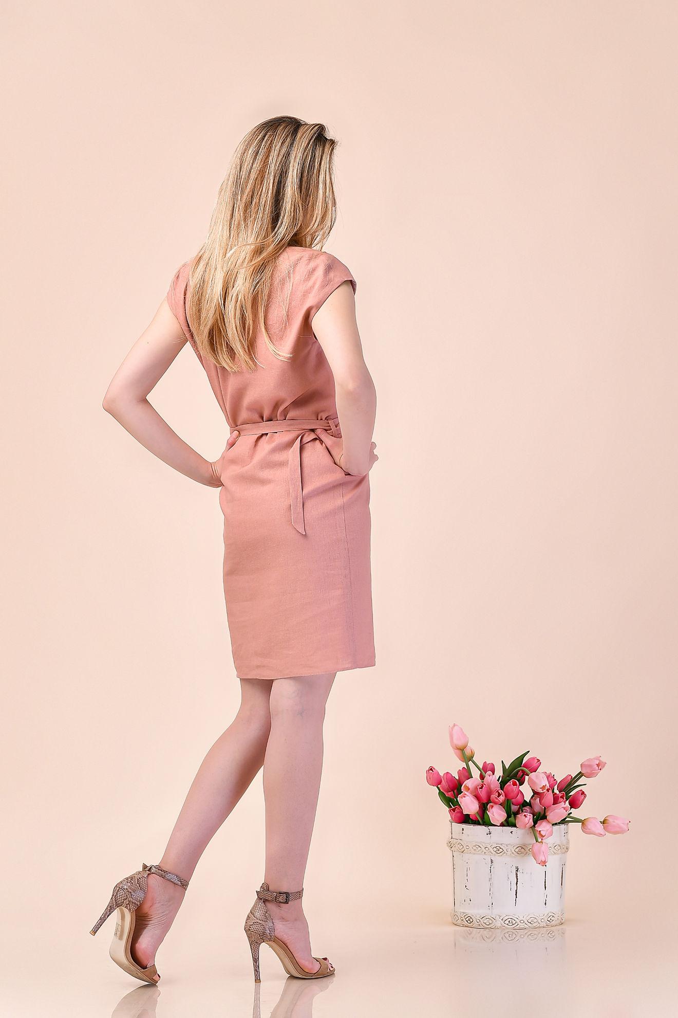 Imagine Rochia Amyra roz pudra